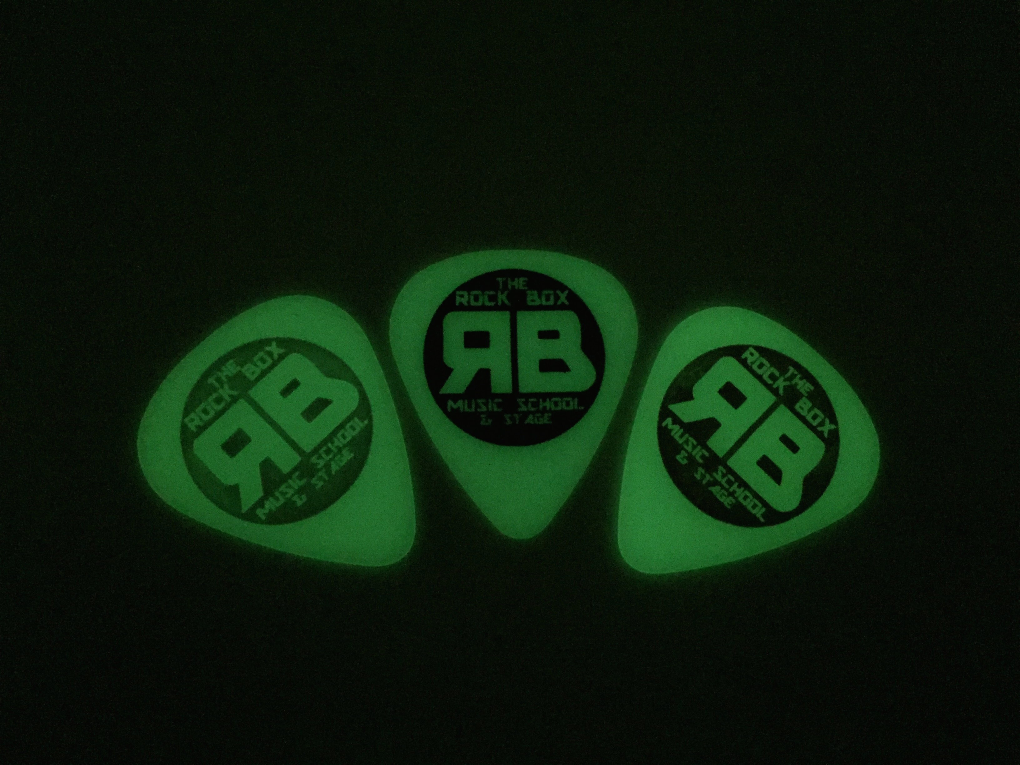 84d8d2e985e0 Glow-In-The-Dark Rock Box Guitar Picks – The Rock Box